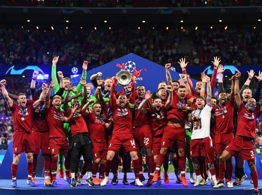 Liverpool Akhiri Penantian 14 Tahun Juara Liga Champions