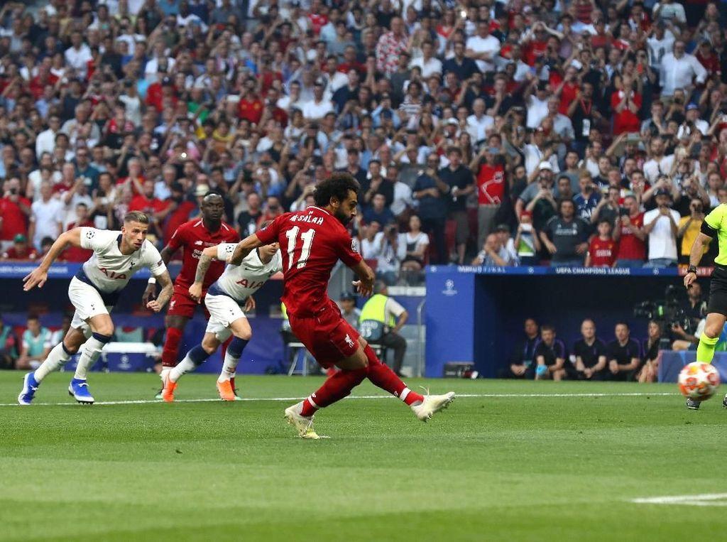 Tottenham vs Liverpool di Babak I: Salah Bawa The Reds Unggul 1-0