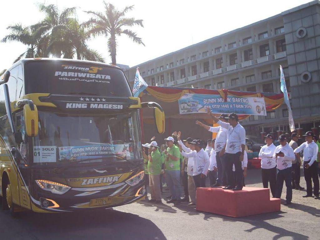 PT Bukit Asam Fasilitasi 2.628 Pemudik ke Kampung Halaman