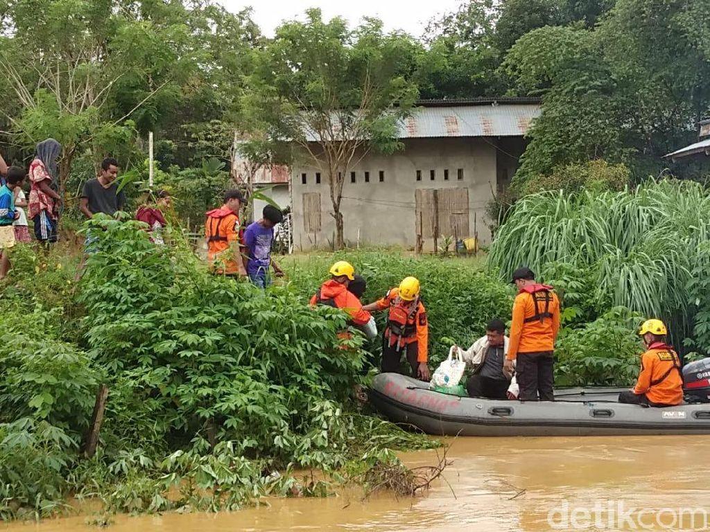 Banjir Landa 3 Kecamatan di Sidrap Sulsel, 1 Desa Terisolasi