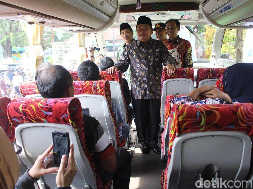 1.975 Warga di Sidoarjo Mudik Gratis via Bus