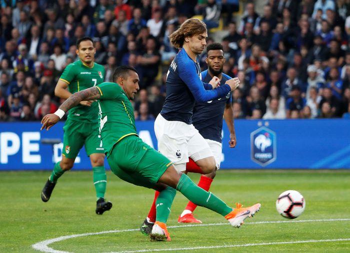 Prancis mengalahkan Bolivia 2-0 di laga pershabatan jelang Kualifikasi Piala Eropa 2020. (Foto: Stephane Mahe / Reuters)