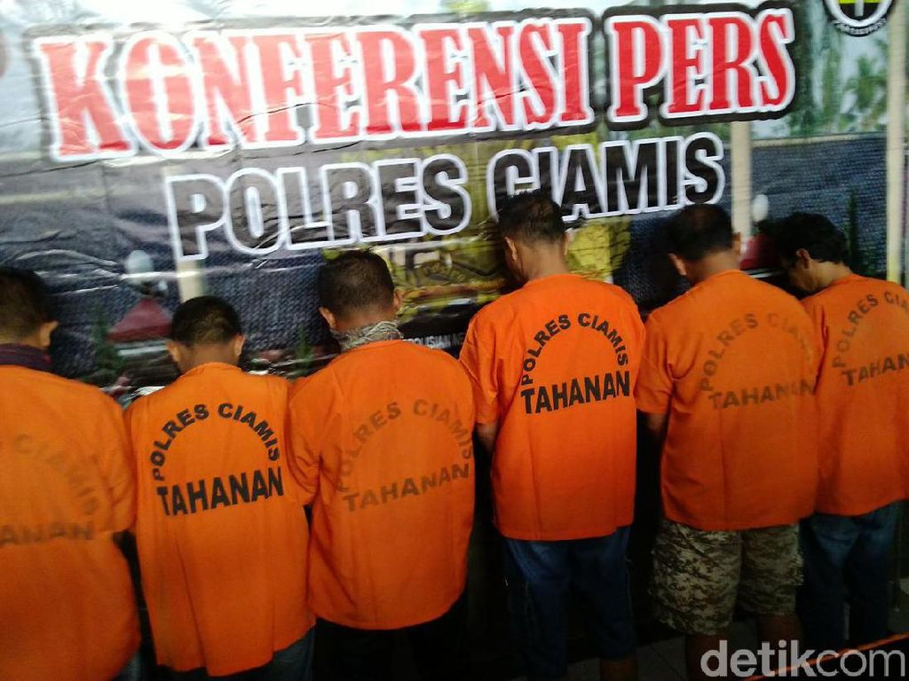Peras Bos Bolu di Ciamis, Oknum Wartawan Ditangkap Polisi