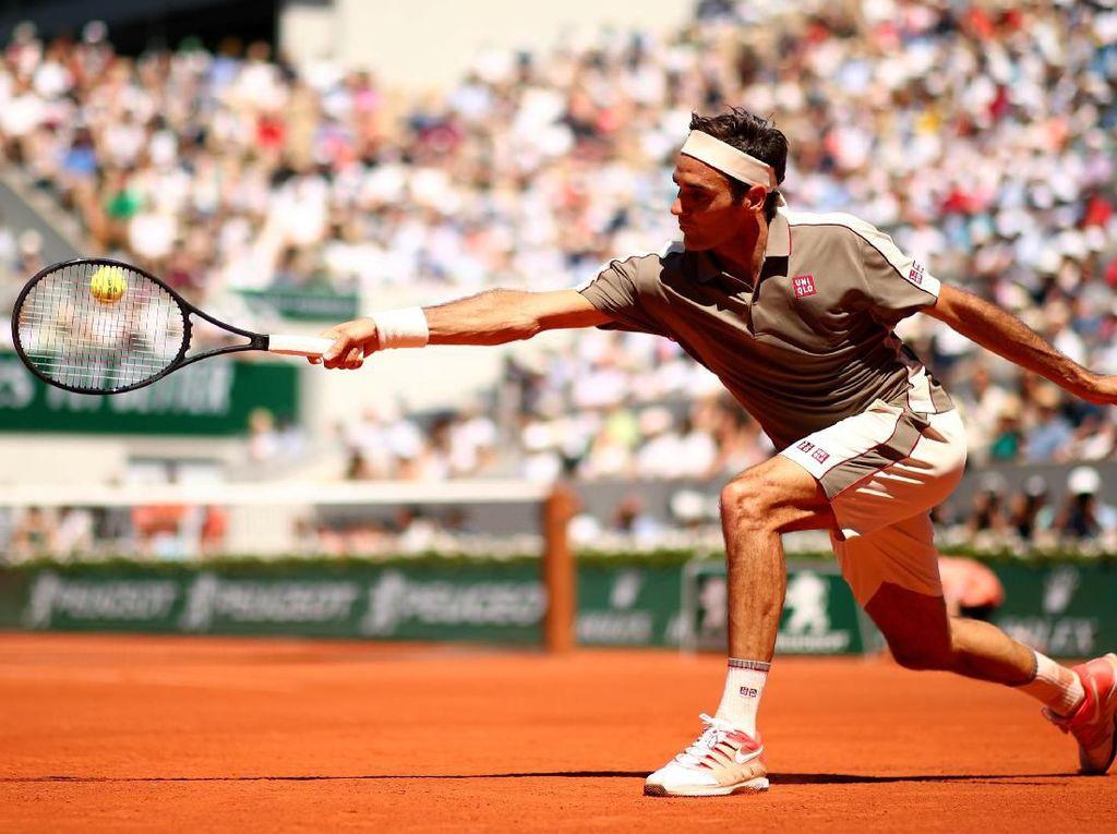 Federer dan Nadal Mulus ke Perempatfinal Prancis Terbuka