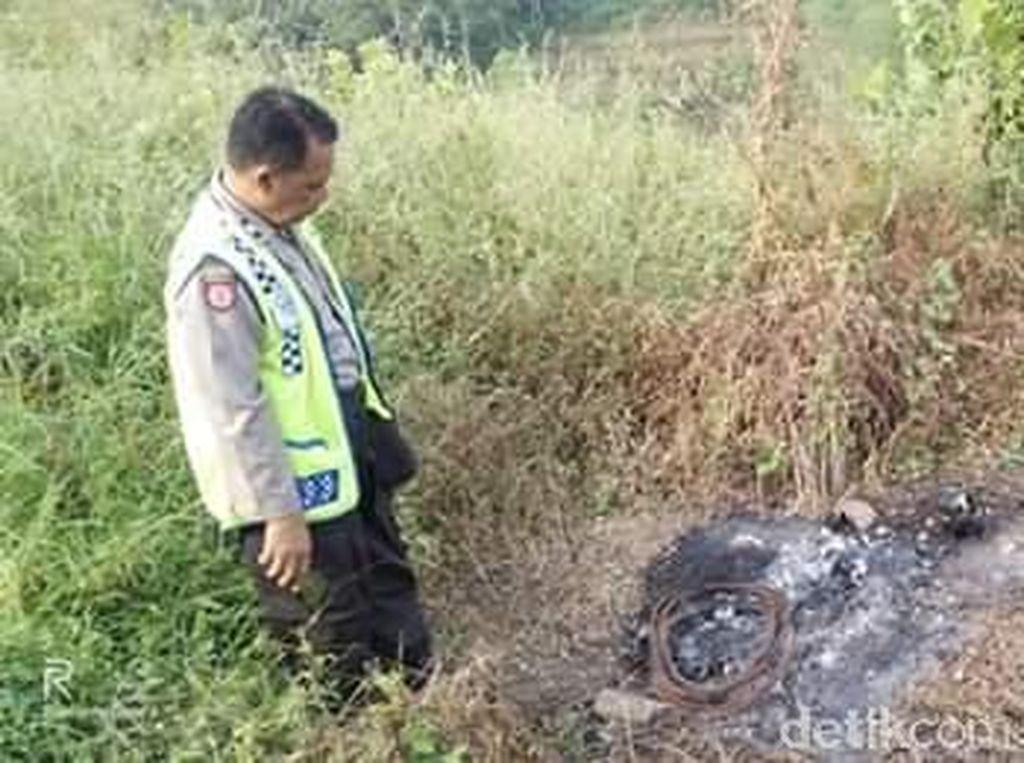 Polisi Amankan 3 Pria Terkait Kasus Tengkorak Terbakar di Mojokerto