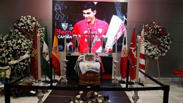 Jose Antonio Reyes telah meninggal dunia. (REUTERS/Jon Nazca)