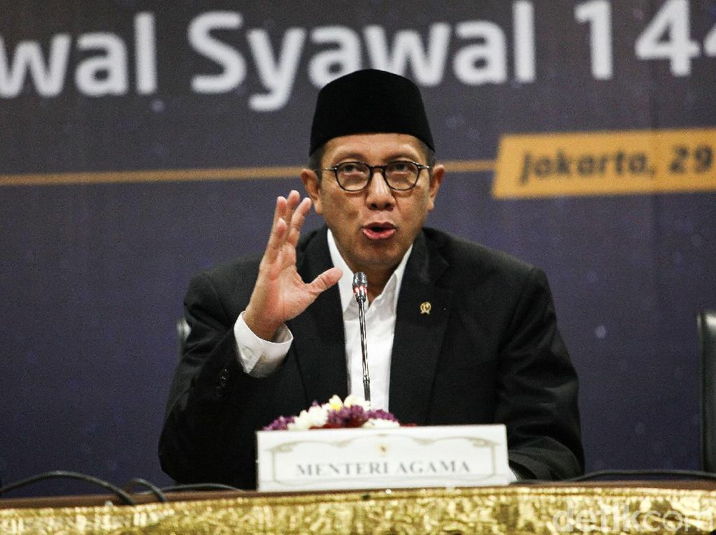 Menag: Idul Fitri Momentum Pererat Persaudaraan