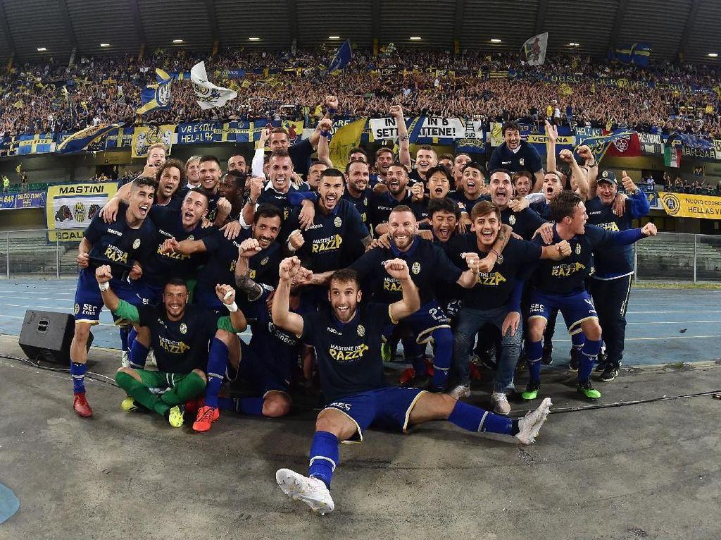 Hellas Verona Kembali ke Liga Italia 2019/2020