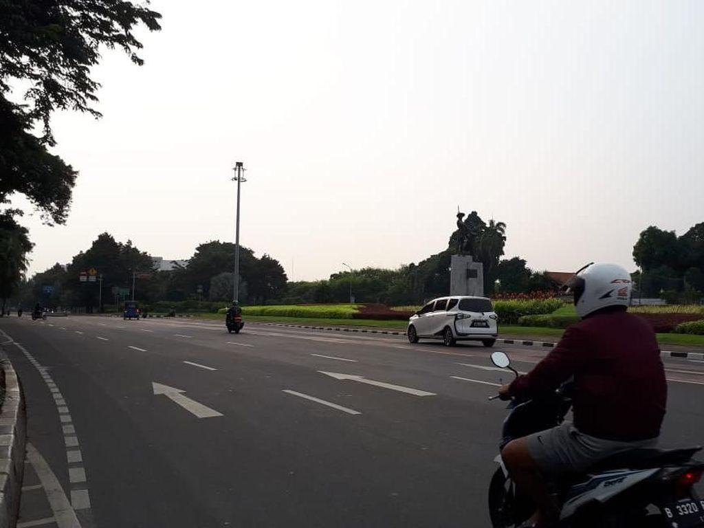 H-2 Lebaran, Sejumlah Ruas Jalan di Jakarta Sepi