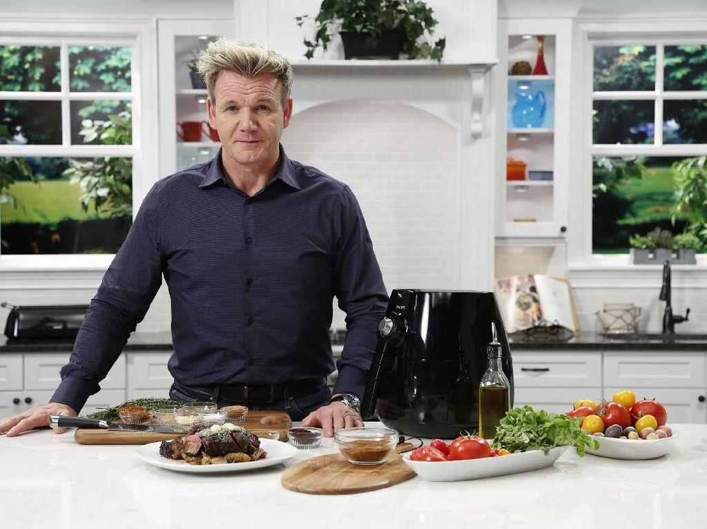 Jalani Kerja Sama Baru, Gordon Ramsay Ingin Buka 100 Restoran dalam 5 Tahun