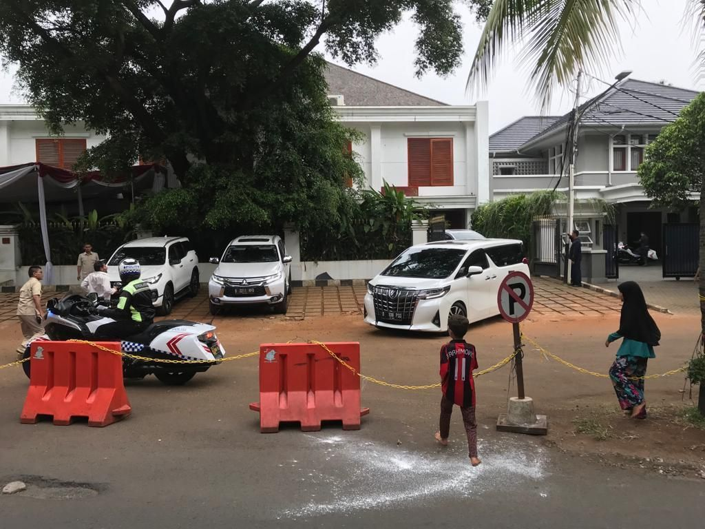 Hendak Takziah ke Cikeas, Prabowo Tinggalkan Kertanegara