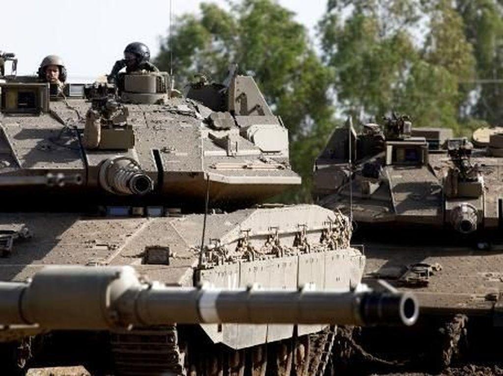 Israel Serang Suriah di Tengah Permintaan Trump Hentikan Pengeboman