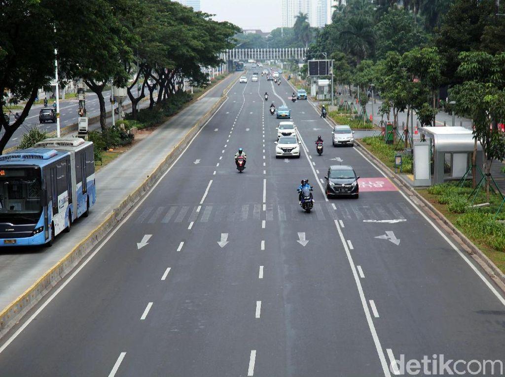 Jalanan Jakarta Paling Lancar: Sehari Sebelum Lebaran