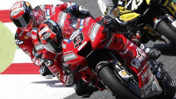 Ducati puas dengan performa Andrea Dovizioso dan Danilo Petrucci.