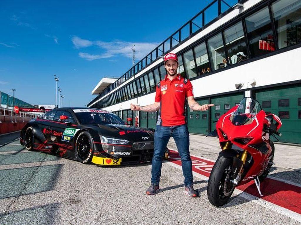 Usai MotoGP Italia, Dovizioso Gaspol Pakai Mobil Balap Audi