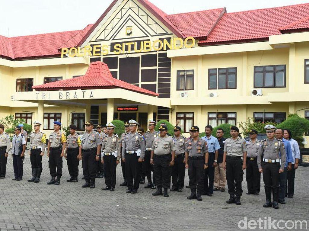 200 Personel Gabungan Amankan Malam Takbiran di Situbondo