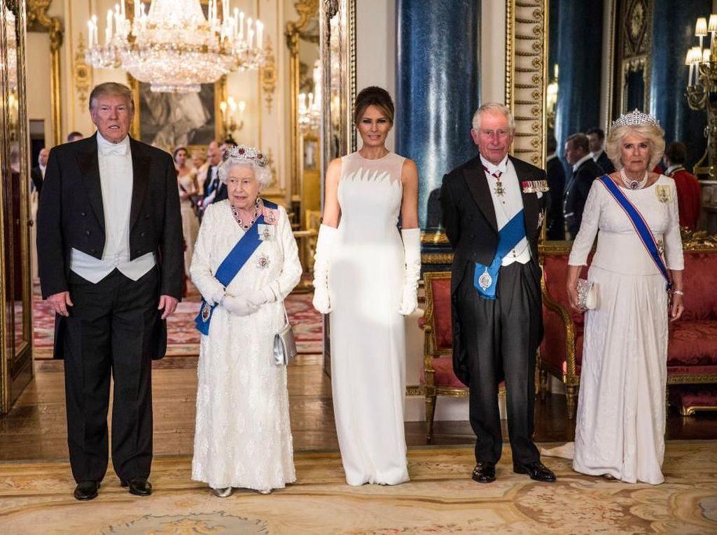 Kate Middelton dan Melania Trump Bertemu Pertama Kali, Siapa Paling Stylish?