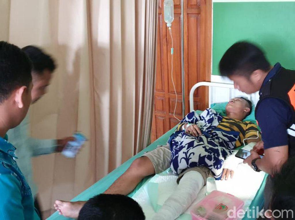 4 Warga Blitar Terluka Setelah Petasan yang Diracik Meledak