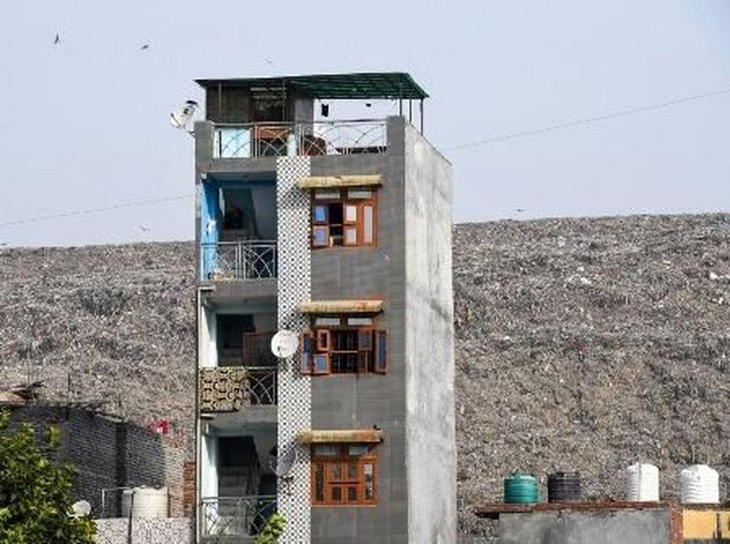Gunung Sampah di India Diprediksi Lebih Tinggi dari Taj Mahal Tahun Depan