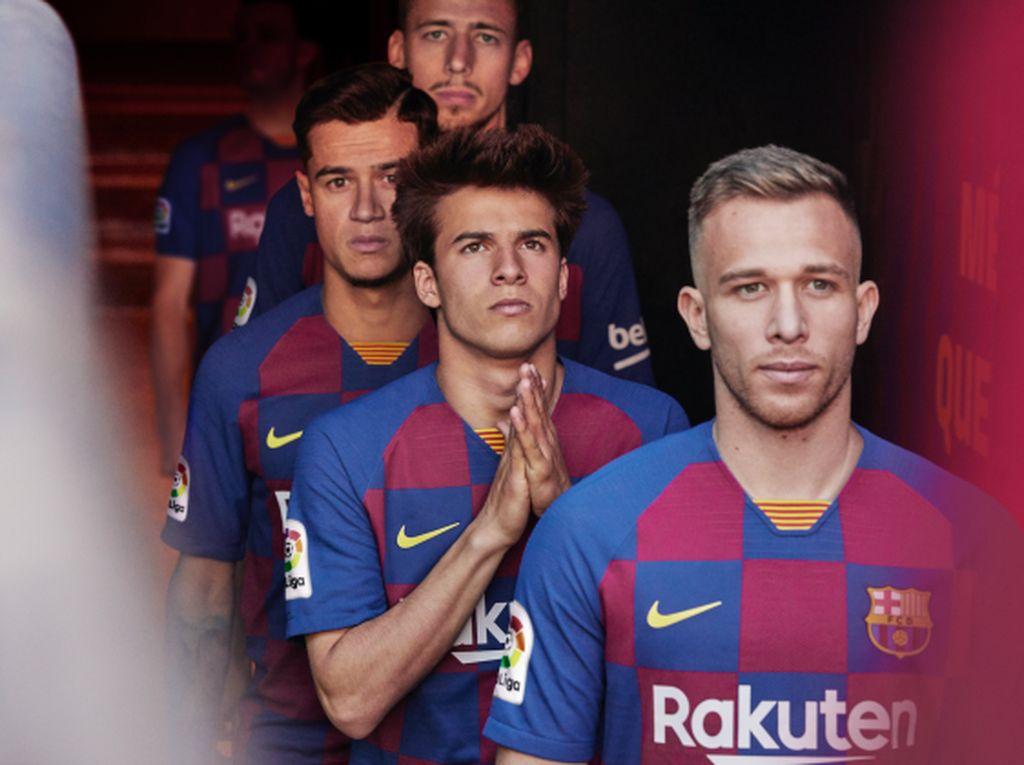 Kenalkan Jersey Anyar Barcelona, Kotak-Kotak ala Timnas Kroasia