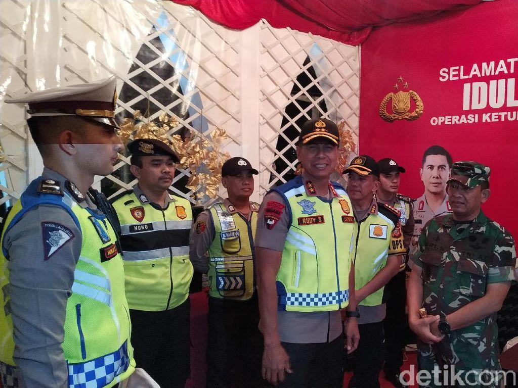 Pantau Pos Lebaran, Pangdam-Kapolda Jabar Ingatkan Anggota Soal Teror