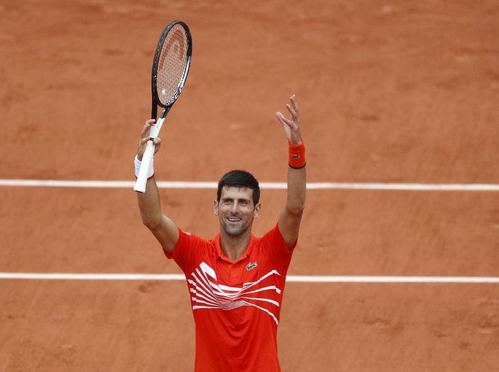 Nishikori Vs Nadal, Djokovic Lolos ke Perempatfinal Prancis Terbuka