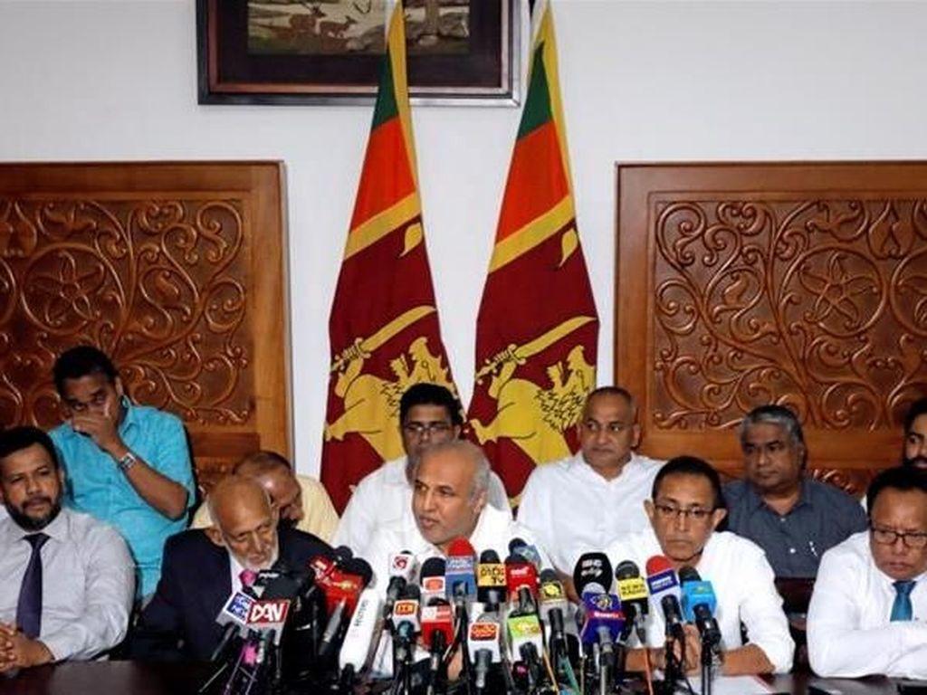 Pemerintah Gagal Jamin Keamanan, 9 Menteri Sri Lanka Lepas Jabatan