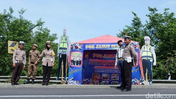 Foto: Pos polisi Janji Suci di Aceh Besar (Dok dok Satlantas Aceh Besar)