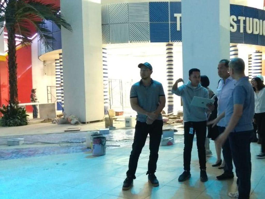 CT Tinjau Trans Studio Themepark di Cibubur