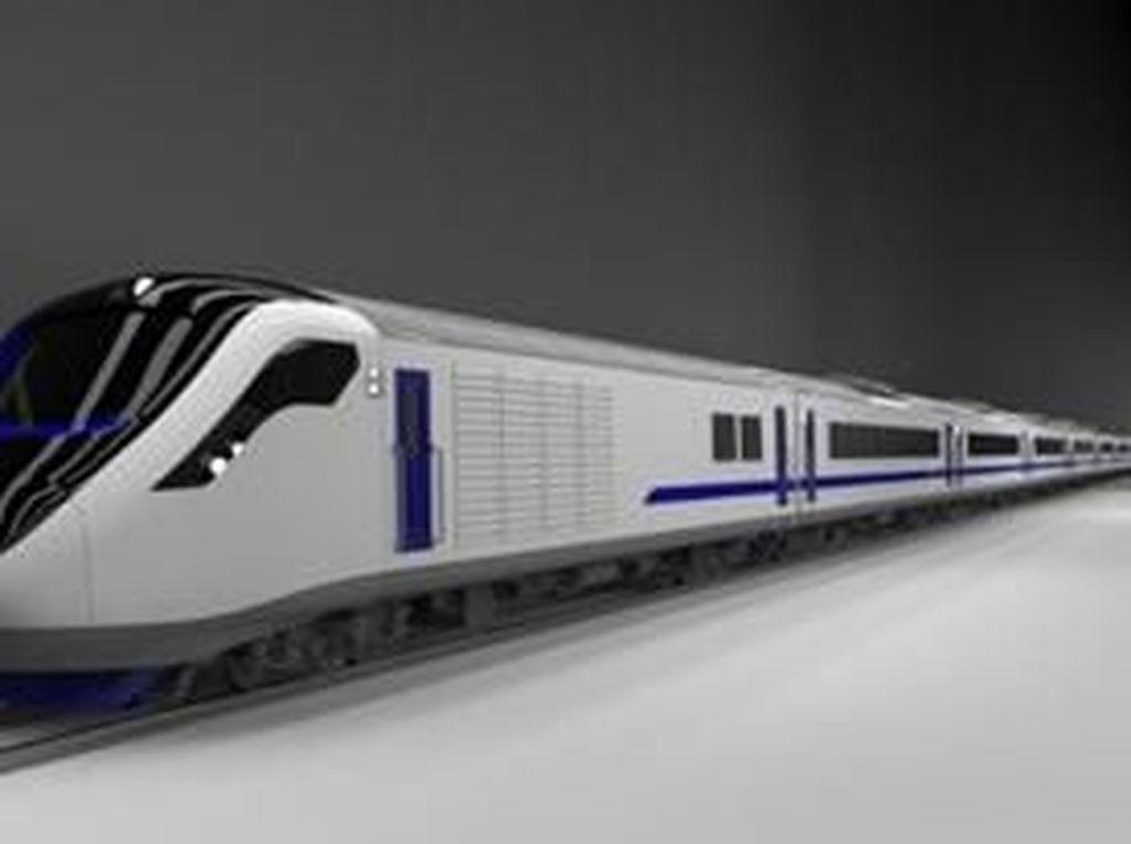 Ini Rupa Kereta Kencang Ala Shinkansen Made in Madiun