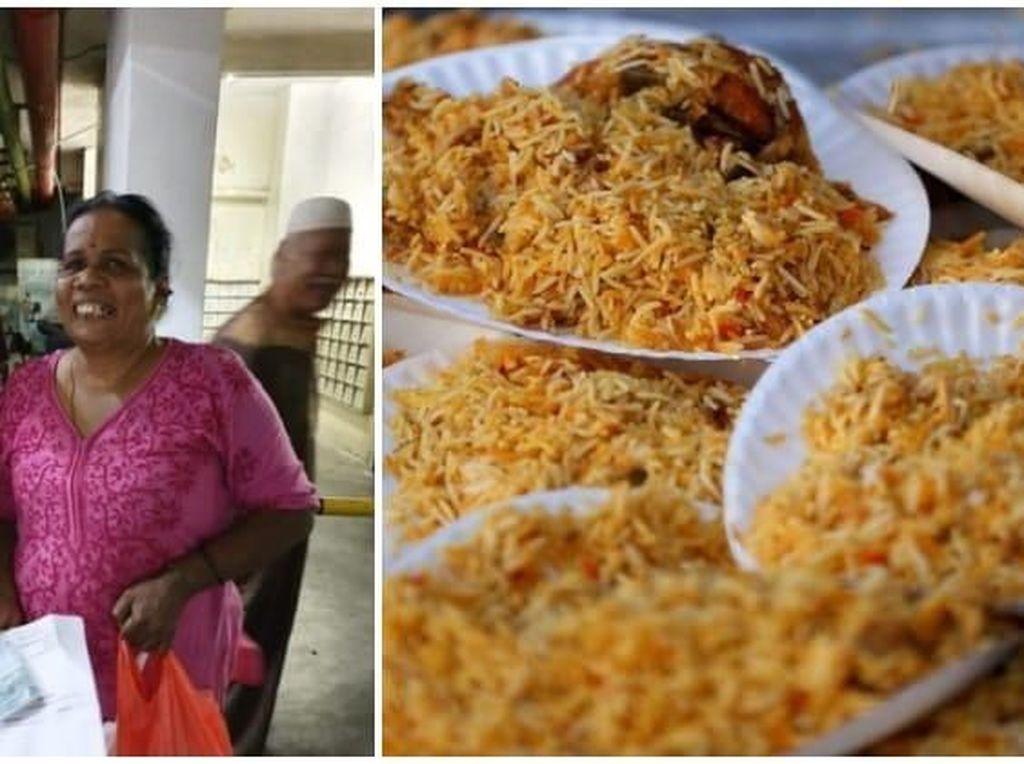 Meski Non Muslim, Wanita Ini Selalu Kirim Makanan Untuk Jamaah Masjid