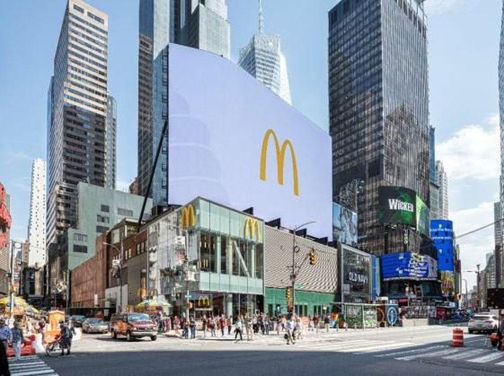 Mengintip Gerai Premium Baru McDonalds di New York