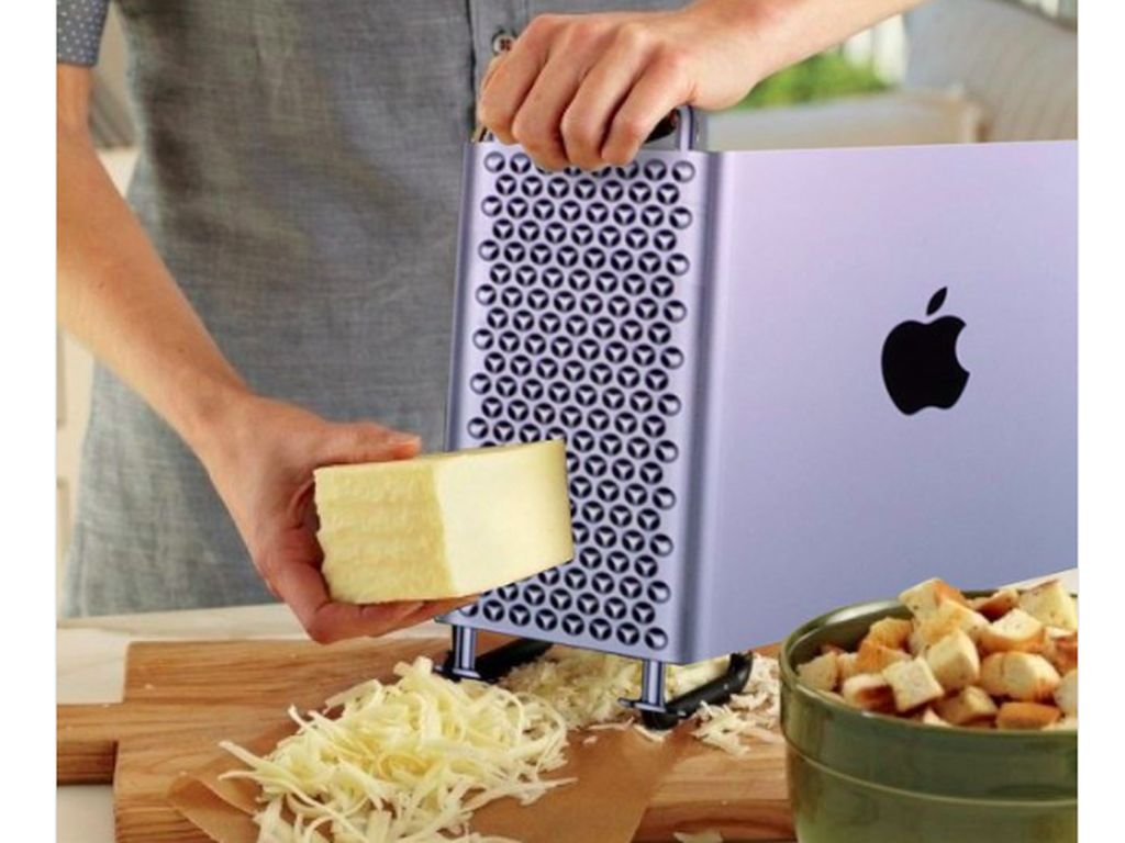 Mirip Parutan Keju, Apple Mac Pro Jadi Lelucon