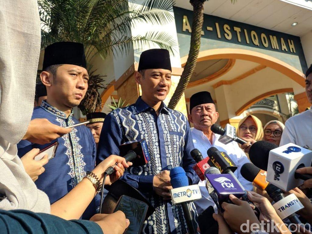 AHY: Pak SBY Sangat Kelelahan, Mohon Doa Beliau Tetap Sehat