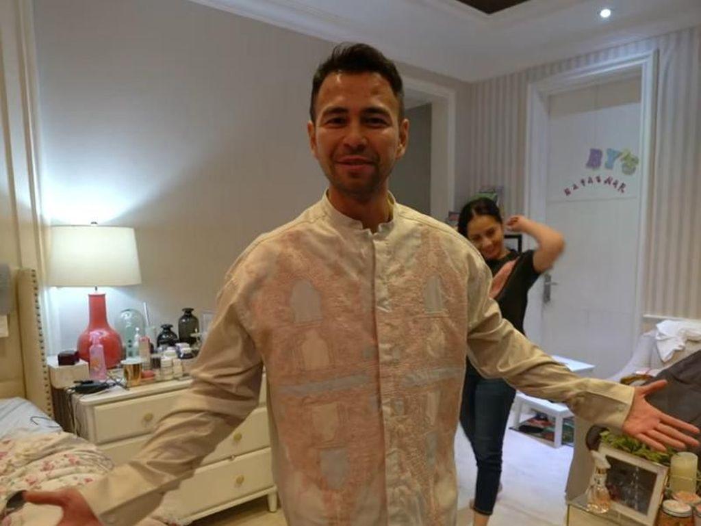 Raffi Ahmad Bagi-bagi THR Belasan Juta ke Keluarga Olga Syahputra