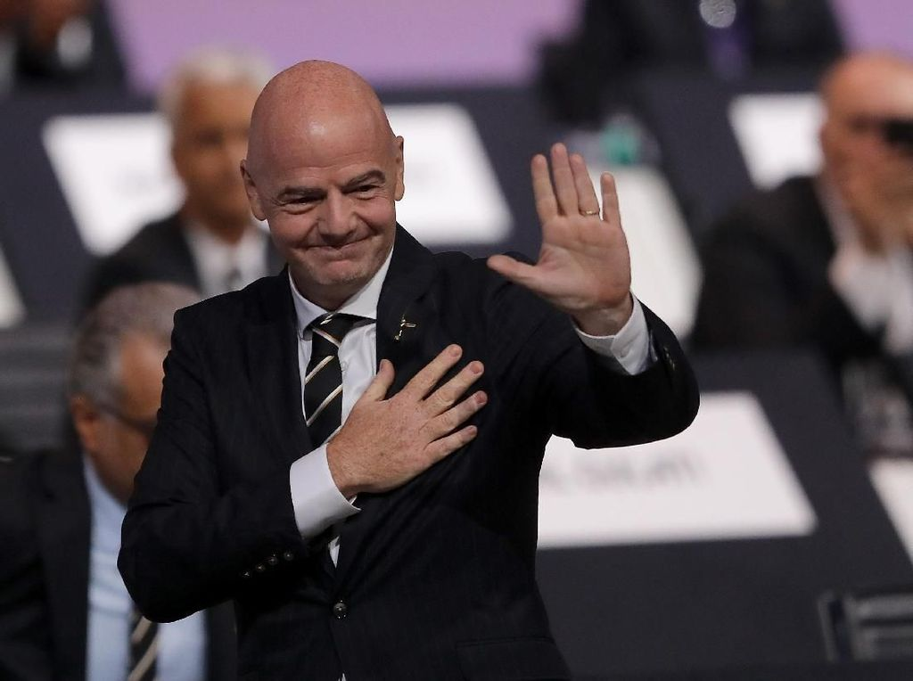Dua Periode! Gianni Infantino Terpilih Lagi Jadi Presiden FIFA