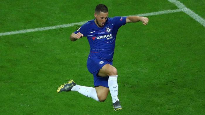 Pemain Chelsea, Eden Hazard. (Foto: Francois Nel/Getty Images0