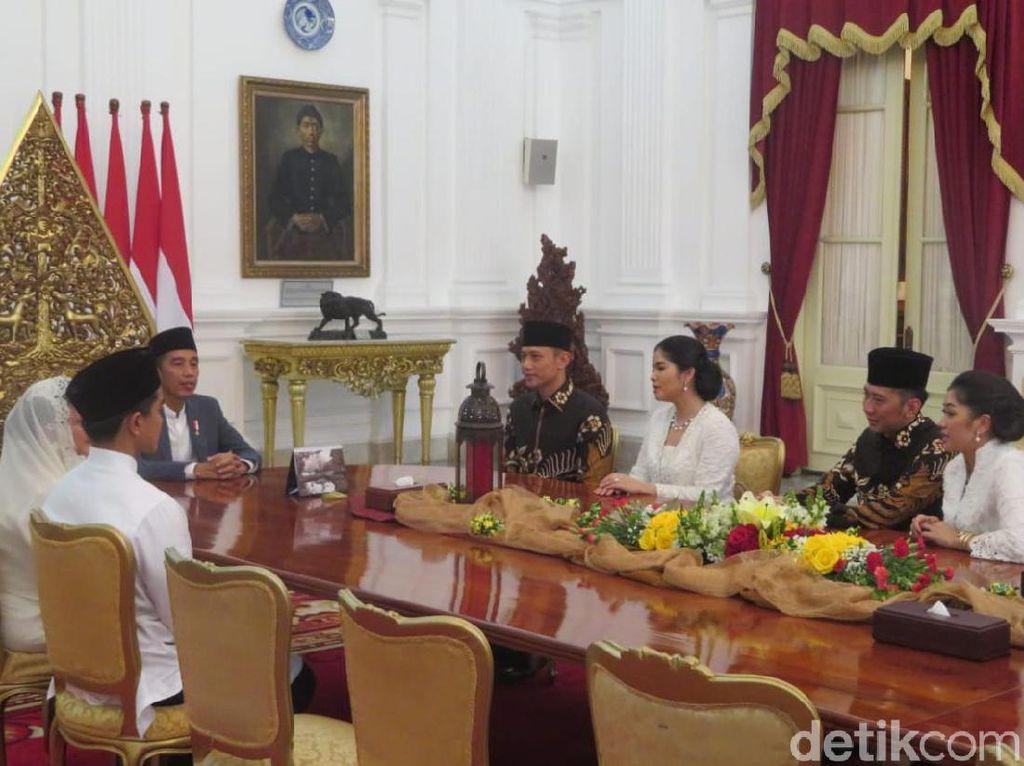 Pujian AHY-Annisa untuk Jokowi