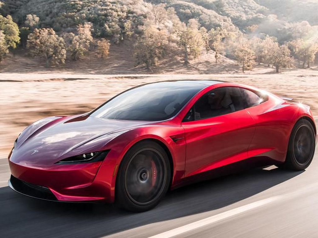 Tesla Siapkan Hypercar Bertenaga Listrik