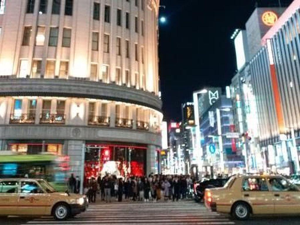 Gemerlap Ginza, Pusat Belanja Mewah di Tokyo