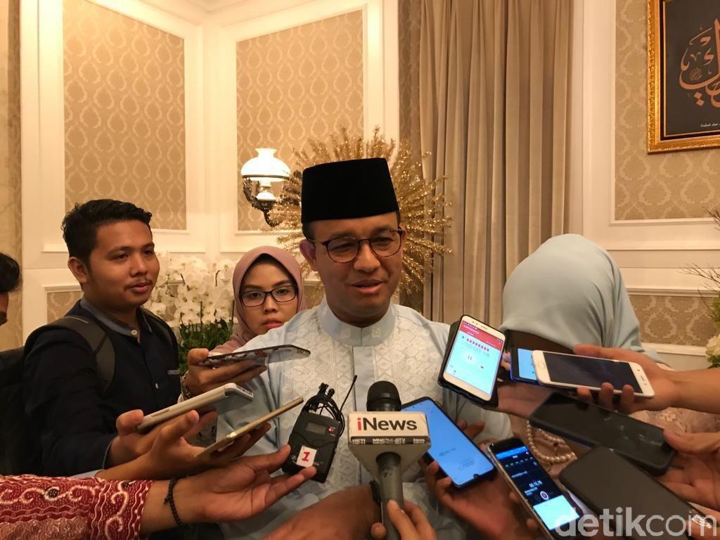 Anies Tak Persoalkan Pendatang Baru di Jakarta Usai Lebaran