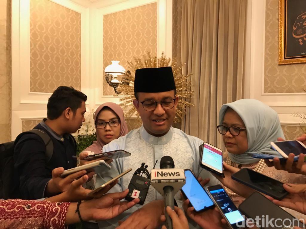 Anies: Lebaran di Jakarta Aman Tenteram, Semangat Solidaritas
