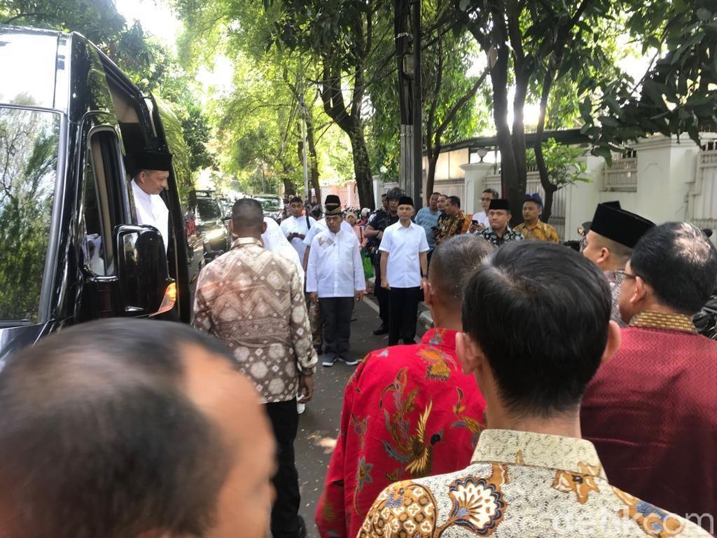 Kapolri-Ketua DPR Silaturahmi ke Kediaman Megawati
