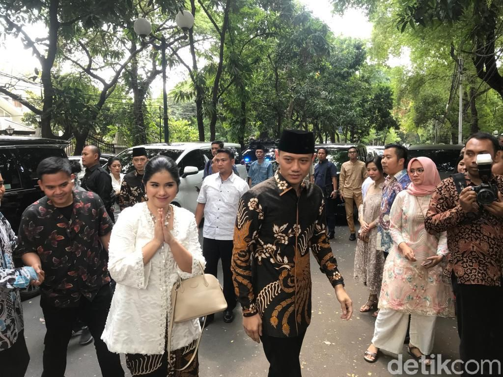 Usai Bertemu Jokowi, AHY dan Ibas Silaturahmi ke Kediaman Megawati