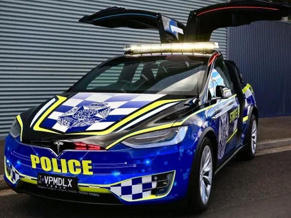 Polisi Australia Mulai Pakai Mobil Listrik
