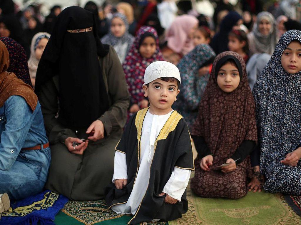 Melihat Suasana Idul Fitri di Gaza Hingga New York