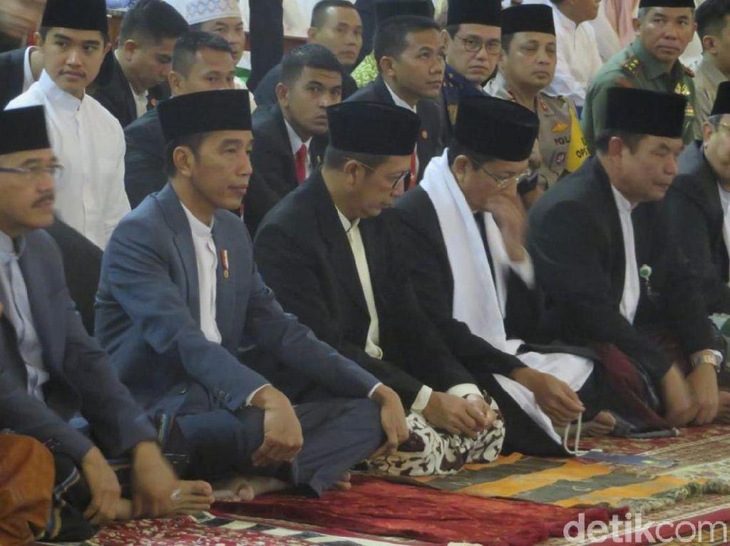 Video Jokowi dan Menag Salat Idul Fitri di Masjid Istiqlal