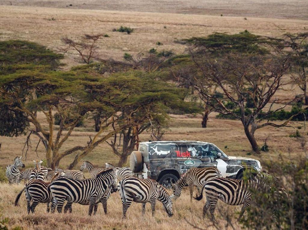 Land Rover Defender Diuji Sampai ke Afrika