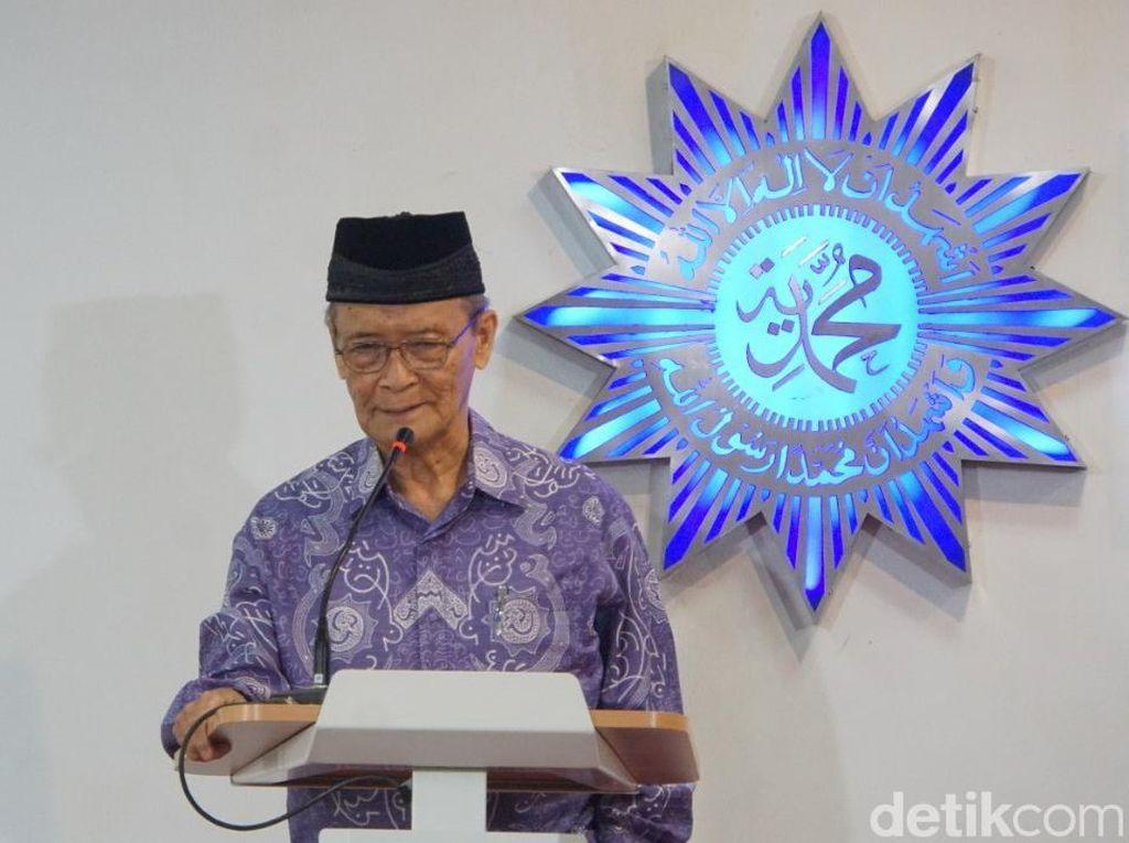 Ini Pesan Idul Fitri Buya Syafii Kepada Warga Muhammadiyah