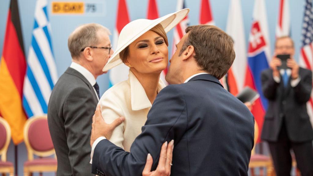 Foto: Gaya Melania Trump yang Disebut Mirip Meghan Markle
